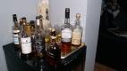 4. Det bjöds på annan whisky förutom provningssortimentet.
