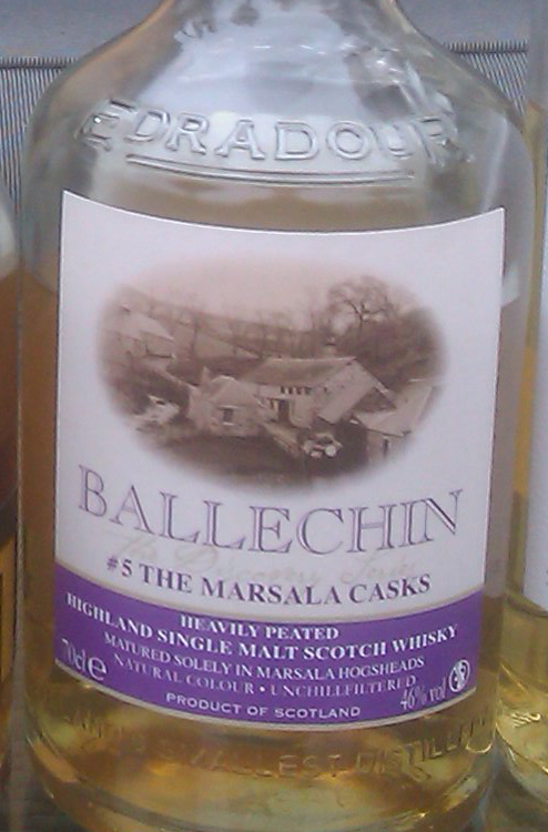 Ballechin Marsala casks