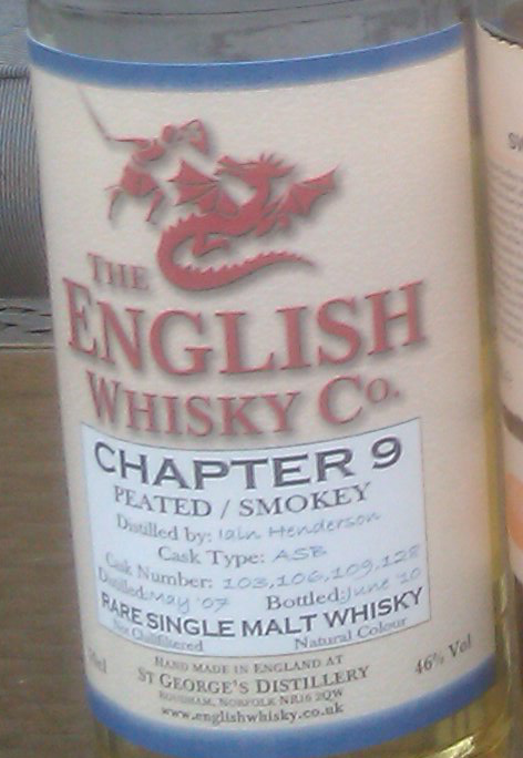 the English Whisky co, Chaper 9