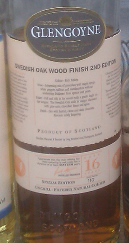 Glengoyne Swedish Oak