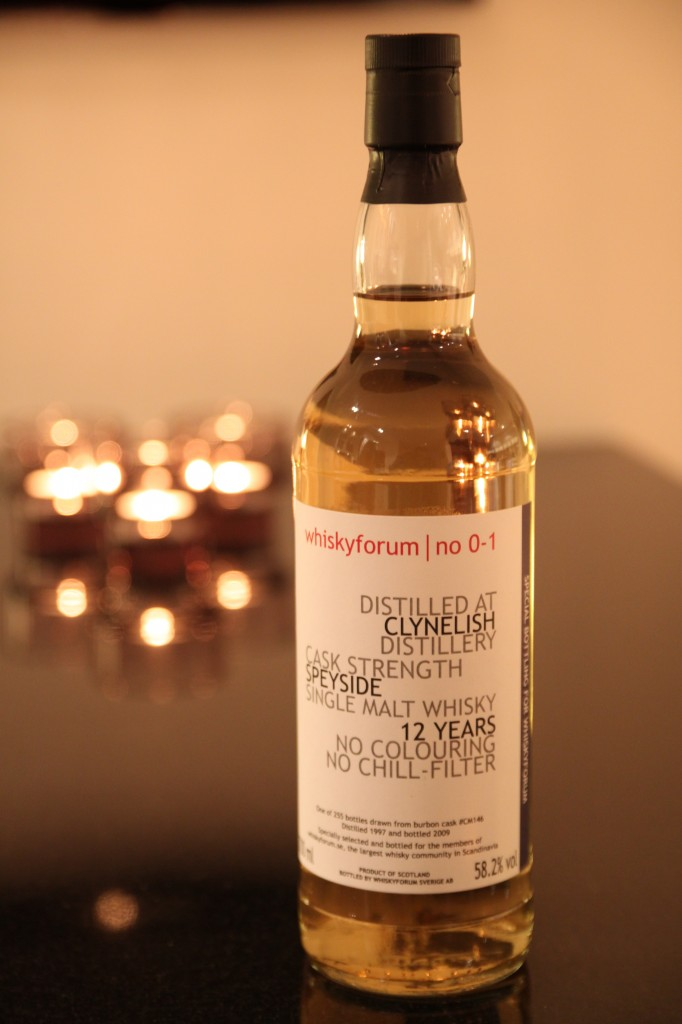 Clynelish Whiskyforum No 0-1