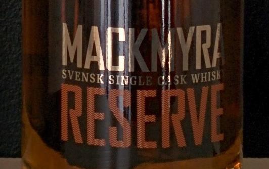 Mackmyra Reserve - extra rök