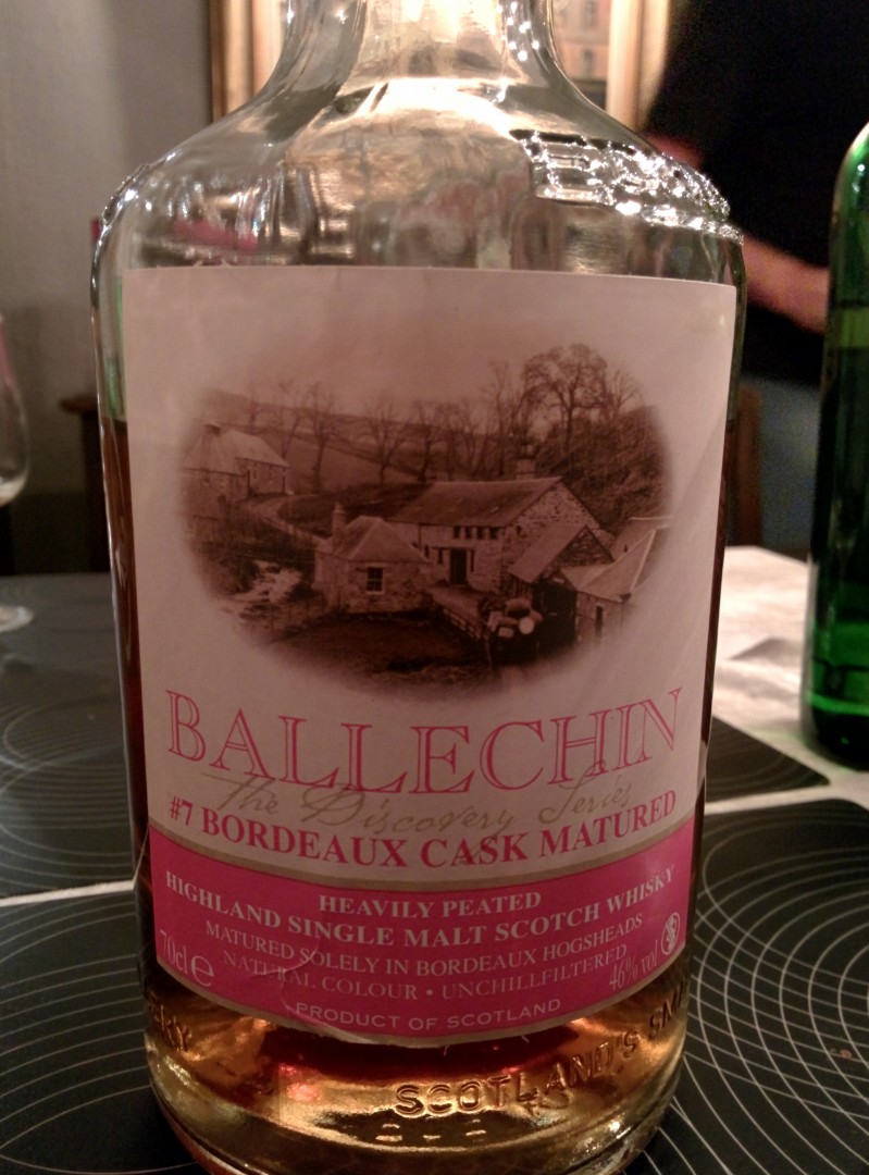 Edradour Ballechin #7 Bordeaux Cask Matured