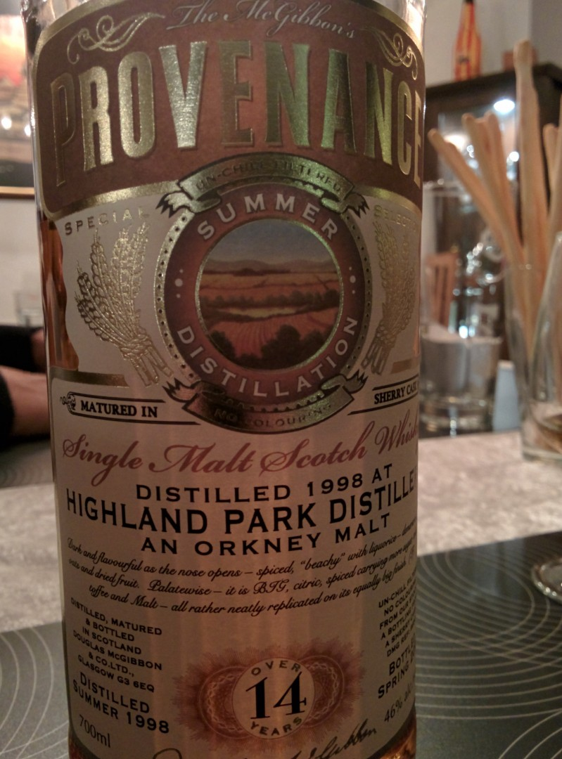 Highland Park 14  - Provenance
