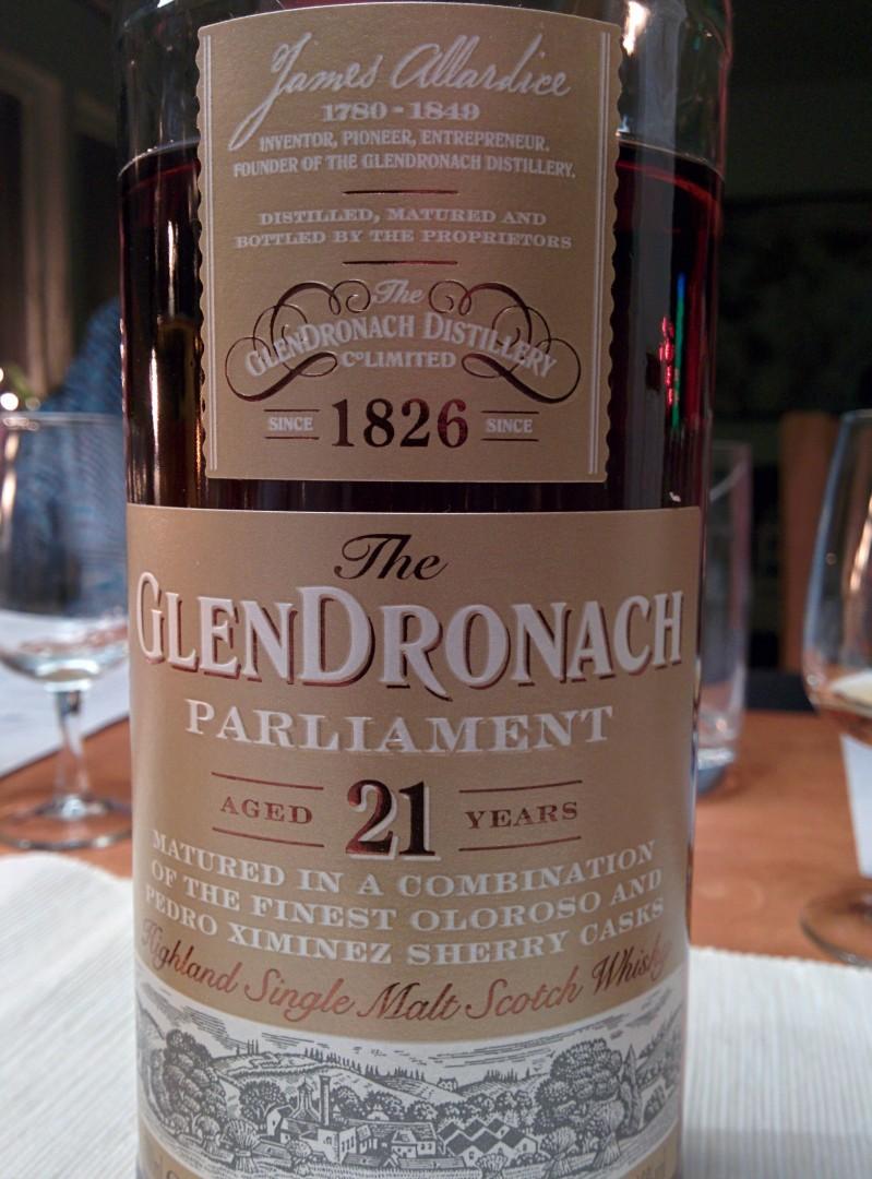 Glendronach Parliament