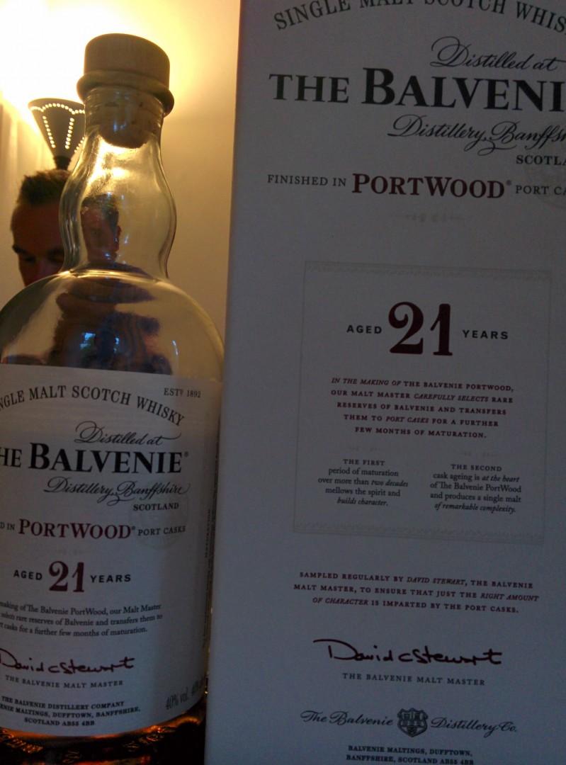 the Balvenie portwood 21
