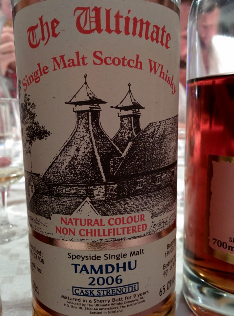 Tamdhu 2006 - The Ultimate - Cask Strength