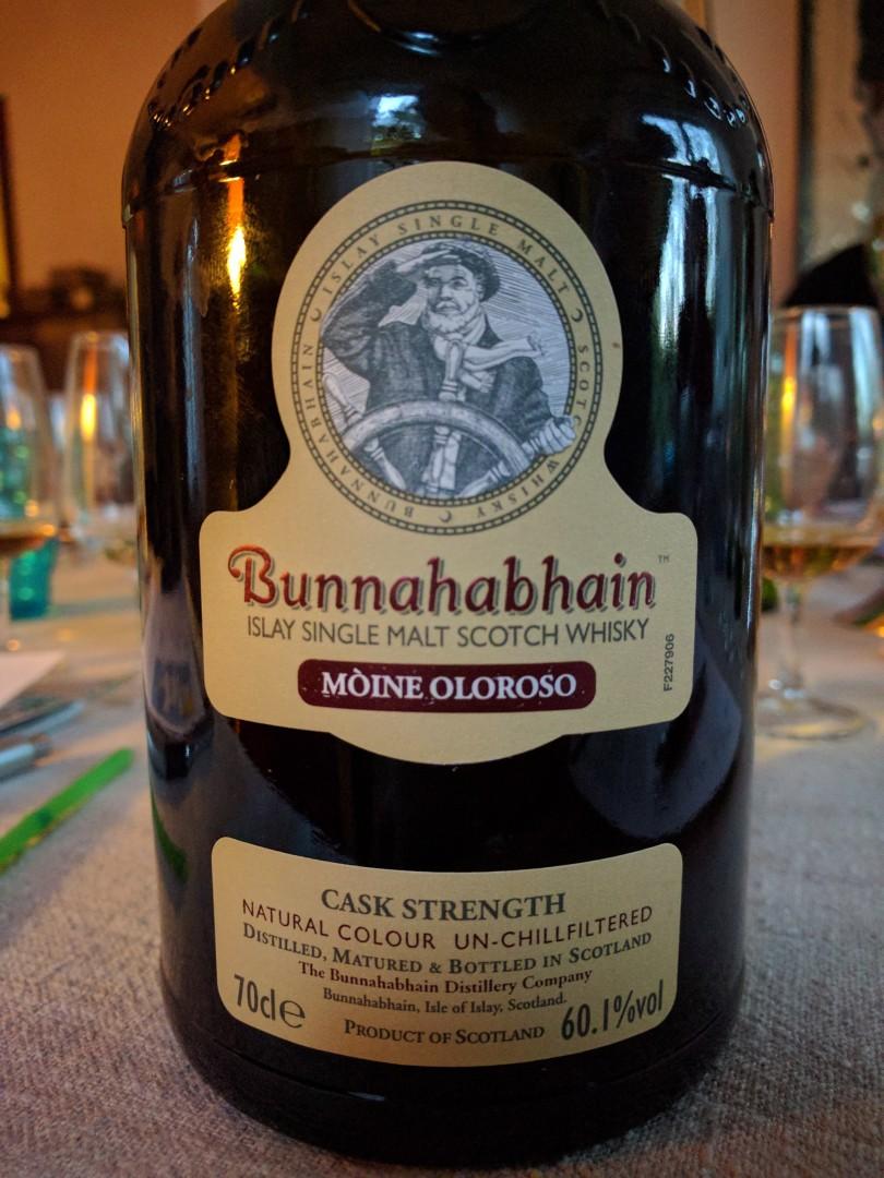 Bunnahabbhain Moine Oloroso