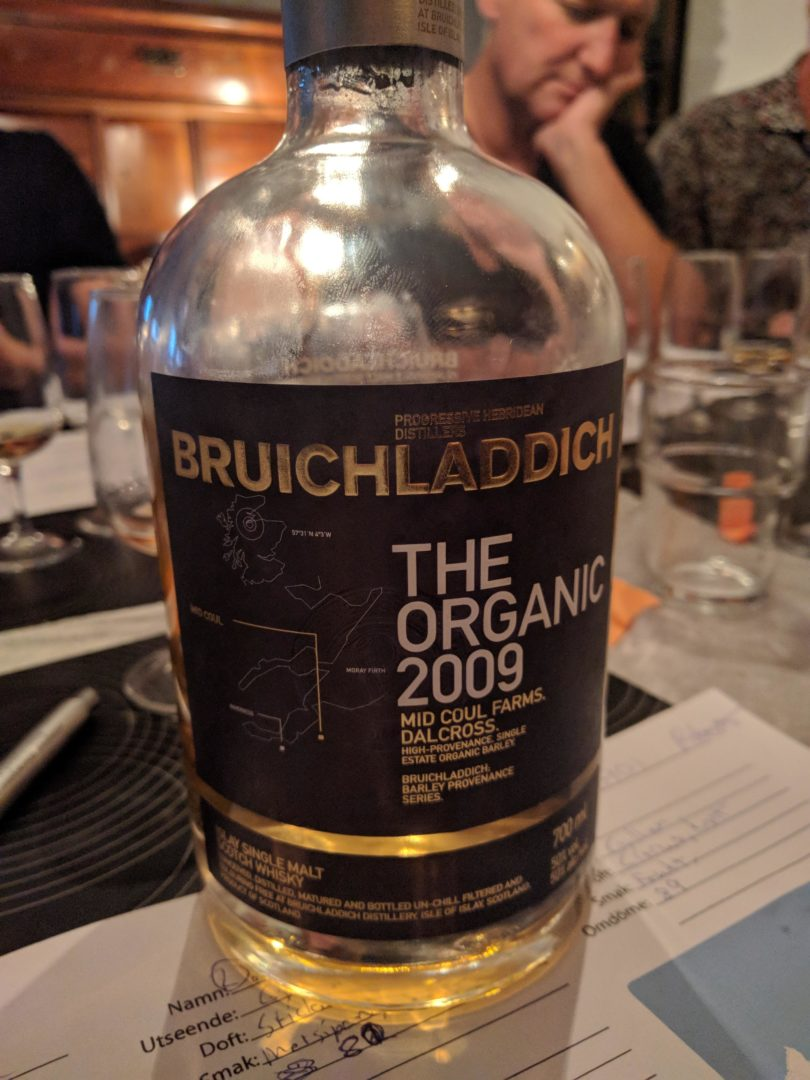 Bruichladdich - the organic 2009