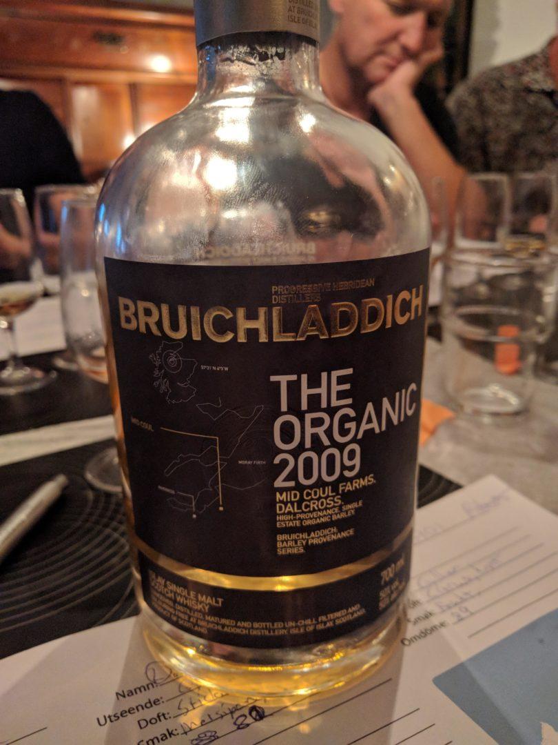 Bruichladdich - the organic 2009