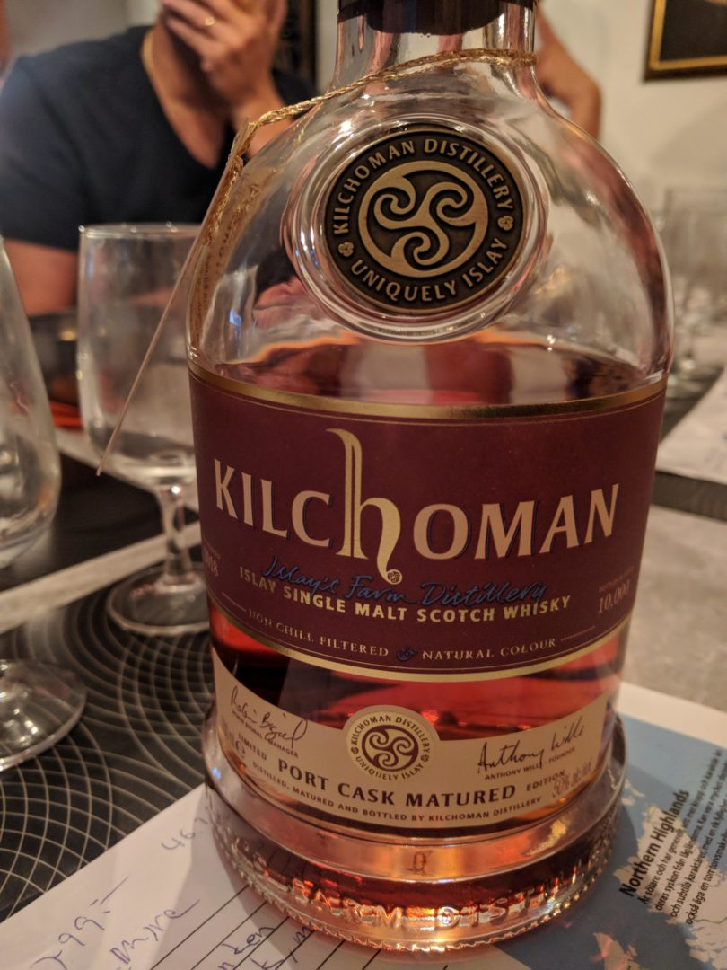 Kilchoman port wine