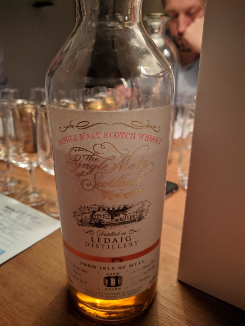 Ledaig 11 sherry