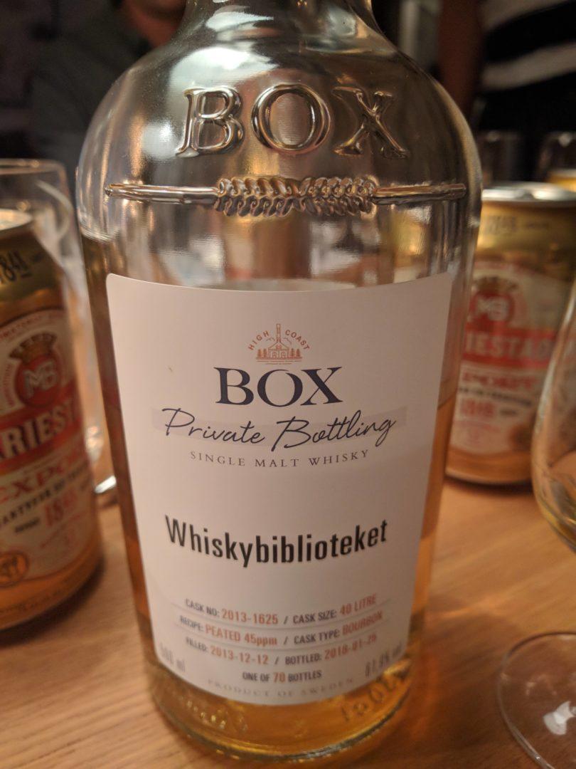 Box - private bottling (Whiskybiblioteket) - Bourbon